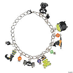 Witch Enamel Charm Bracelet Craft Kit