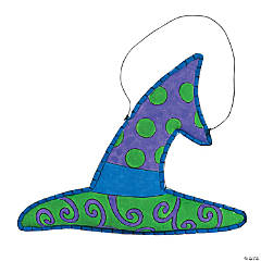 Witch Hat Door Hanger Craft Kit