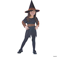 Witch Pumpkin Patch Toddler Girl's Costume
