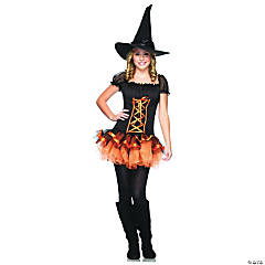 Witchcraft Cutie Girl's Costume