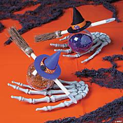 Witch's Glitter Favors Idea