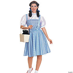 Wizard Of Oz Dorothy Adult Women's Costume
