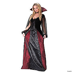 Women's Goth Maiden Costume