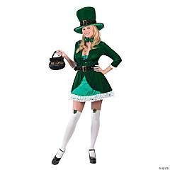 Women's Lady Leprechaun Costume
