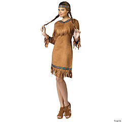 Women's Native American Costume