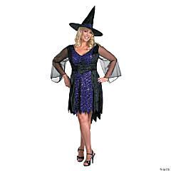 Women's Plus Size Brilliantly Bewitched Costume