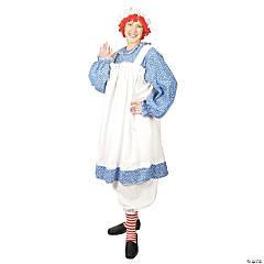 Women's Plus Size Raggedy Ann Costume