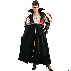 Women's Plus Size Royal Vampira Costume