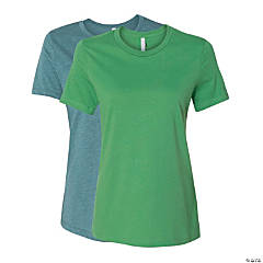 Women's Relaxed Short Sleeve Jersey Tee by Bella + Canvas