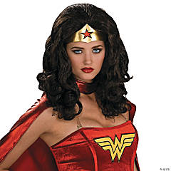 Women's Secret Wishes Wonder Woman Wig