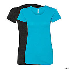Women's Tri-Blend Short Sleeve Tee by Bella + Canvas