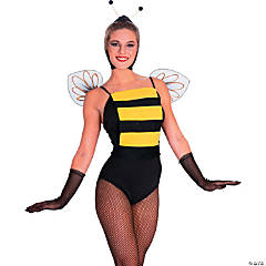 Womenu0027s Bee Costume - Standard  sc 1 st  Oriental Trading : bee costumes for women  - Germanpascual.Com