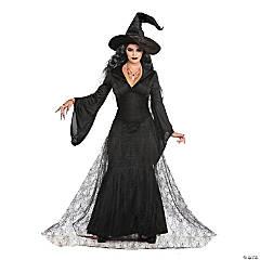 Women's Black Mist Witch Costume