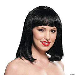 Women's Black Peggy Sue Wig