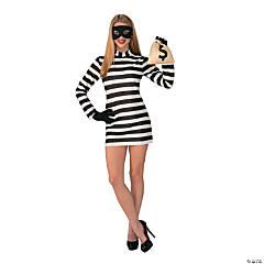 Women's Burglar Babe Costume