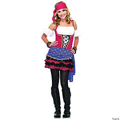 Women's Crystal Bally Gypsy Costume