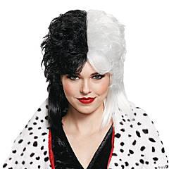 Women's Deluxe Cruella de Vil Wig