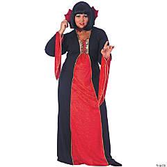 Women's Goth Bloodstone Vampire Costume - Standard