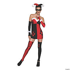 Women's Gotham City Most Wanted Harley Quinn Costume