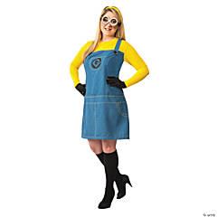 womens plus size despicable me 2 minions costume xxl - Halloween Costume Plus Size Ideas