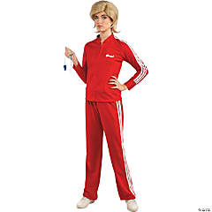 Women's Red Glee Sue Track Suit Costume