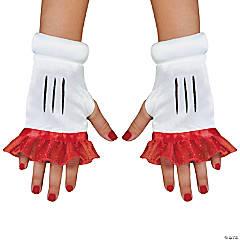 Women's Red Minnie Glovettes