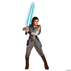 Women's Super Deluxe Star Wars™ Episode VIII: The Last Jedi Rey Costume - Medium