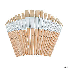 Wonderful White Bristle Brushes Classpack