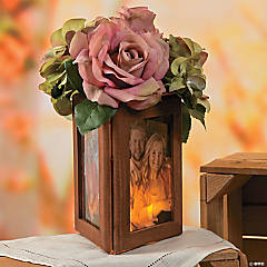 Wood Frame Centerpiece Idea