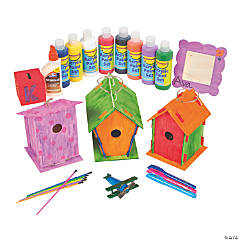 Wood Projects Craft Pack Assortment