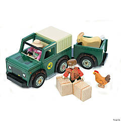 Wooden Farm Vehicle