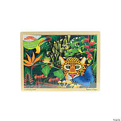 Wooden Jigsaw Puzzles Rainforest