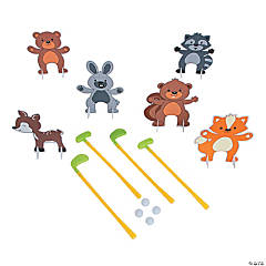 Woodland Creatures Golf Set