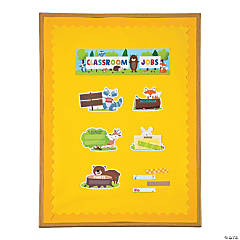 Woodland Friends Classroom Job Mini Bulletin Board Set