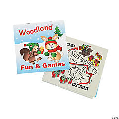 Woodland Fun & Games Activity Books