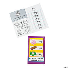 """Word Families"" Activity Books"