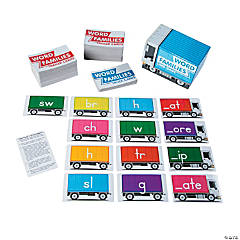 Word Family Card Game