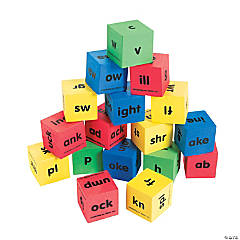 Word Family Dice