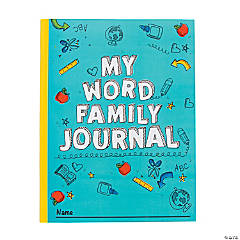 Word Family Journals