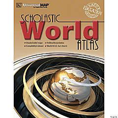 World Scholastic Atlas - Pack of 4 books