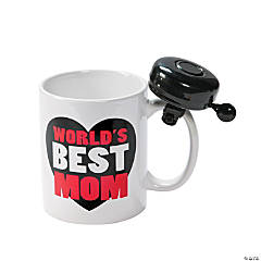 World's Best Mom Mug with Bell