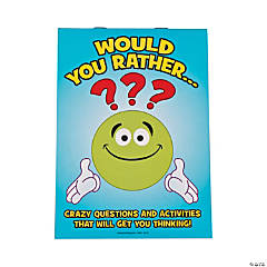 Would You Rather Activity Books for Kids