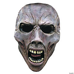 WWZ Face Zombie Scream Halloween Mask 1 for Adults