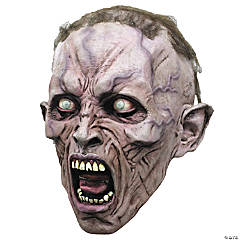 WWZ Face Zombie Scream Halloween Mask 2 3/4 for Adults