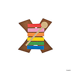 """X Is For Xylophone"" Letter X Craft Kit"