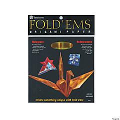 Yasutomo Fold-Ems Origami Paper Hologram
