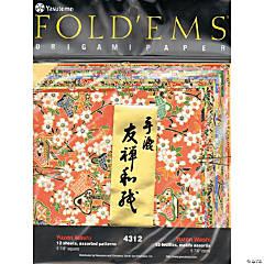 Yasutomo Fold'Ems Origami Paper Yuzen
