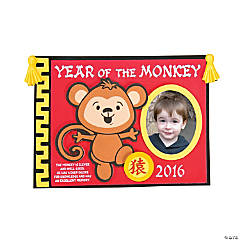 2016 Year of the Monkey Picture Frame Magnet Craft KIt