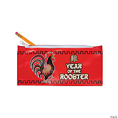 Year of the Rooster Pencil Cases