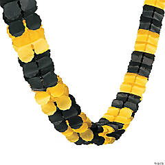 Yellow & Black Garland